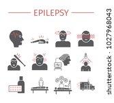 epilepsy. symptoms  treatment.... | Shutterstock .eps vector #1027968043