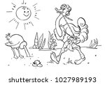 coloring books for children.... | Shutterstock .eps vector #1027989193