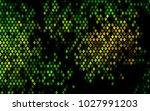 dark green  yellow vector... | Shutterstock .eps vector #1027991203