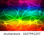 dark multicolor  rainbow vector ... | Shutterstock .eps vector #1027991257