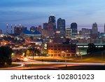 kansas city. image of the... | Shutterstock . vector #102801023