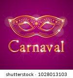 beautiful carnaval illustration ... | Shutterstock .eps vector #1028013103