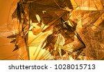 beautiful orange illustration... | Shutterstock . vector #1028015713