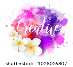 be creative hand lettering... | Shutterstock .eps vector #1028026807