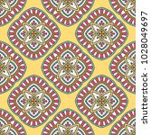 seamless pattern with mandala.... | Shutterstock .eps vector #1028049697