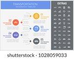 transportation infographic... | Shutterstock .eps vector #1028059033