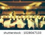 defocused entertainment concert ... | Shutterstock . vector #1028067133