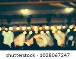 defocused entertainment concert ... | Shutterstock . vector #1028067247