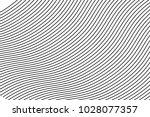 wavy  billowy  flowing lines... | Shutterstock .eps vector #1028077357
