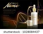 design cosmetics product...   Shutterstock . vector #1028084437