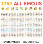 all type of emojis  emoticons... | Shutterstock .eps vector #1028086267