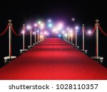 classic red carpet and flash...   Shutterstock . vector #1028110357