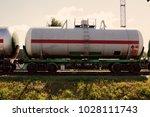 railway tank for transportation ...   Shutterstock . vector #1028111743