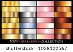 gold silver pink bronze... | Shutterstock .eps vector #1028122567
