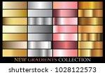 gold silver pink bronze... | Shutterstock .eps vector #1028122573