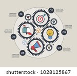 email advertising design.... | Shutterstock .eps vector #1028125867