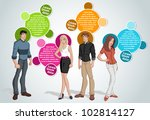 colorful template for... | Shutterstock .eps vector #102814127