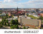 Stock photo view on the center of hannover germany 102816227