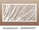 template for cutting. abstract... | Shutterstock .eps vector #1028181037