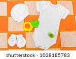 white bodysuit  romper   white...   Shutterstock . vector #1028185783