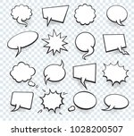 set of blank template in pop... | Shutterstock .eps vector #1028200507