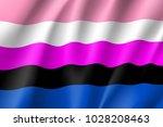 gender fluid symbol people ...   Shutterstock .eps vector #1028208463