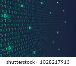 bitcoin crypto currency search...   Shutterstock .eps vector #1028217913