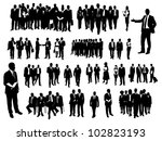 business people | Shutterstock .eps vector #102823193