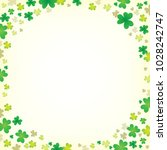 three leaf clover abstract... | Shutterstock .eps vector #1028242747