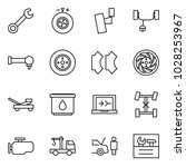 flat vector icon set   wrench... | Shutterstock .eps vector #1028253967