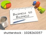 business to business   text