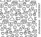 seamless vector pattern of... | Shutterstock .eps vector #1028283067