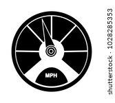 vector speedometer icon | Shutterstock .eps vector #1028285353
