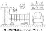 outline interior of the... | Shutterstock .eps vector #1028291107