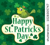 happy st patricks day theme 7   ... | Shutterstock .eps vector #1028305747