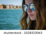 closeup portrait of face of... | Shutterstock . vector #1028323063