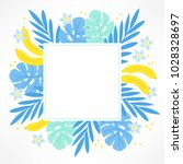 summer greeting card with...   Shutterstock .eps vector #1028328697