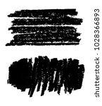 grunge brush strokes.vector... | Shutterstock .eps vector #1028366893
