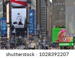 new york city   aug. 24 ... | Shutterstock . vector #1028392207