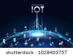 internet of things  iot  ... | Shutterstock .eps vector #1028403757
