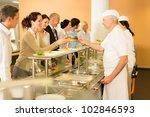 business colleagues in...   Shutterstock . vector #102846593