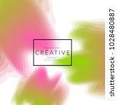 minimal cover banner template.... | Shutterstock .eps vector #1028480887