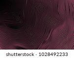 wavy stripes. trendy curve... | Shutterstock .eps vector #1028492233