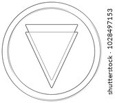 verge   cryptocurrency coin.... | Shutterstock .eps vector #1028497153