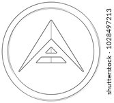 ark   cryptocurrency coin.... | Shutterstock .eps vector #1028497213