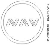 navcoin   cryptocurrency coin.... | Shutterstock .eps vector #1028497243