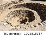 cantalloc aqueduct  nazca  peru   Shutterstock . vector #1028515357