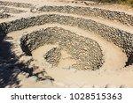 cantalloc aqueduct  nazca  peru   Shutterstock . vector #1028515363