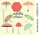 vector collection of different... | Shutterstock .eps vector #1028521747