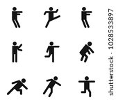 motion icons set. simple set of ... | Shutterstock .eps vector #1028533897
